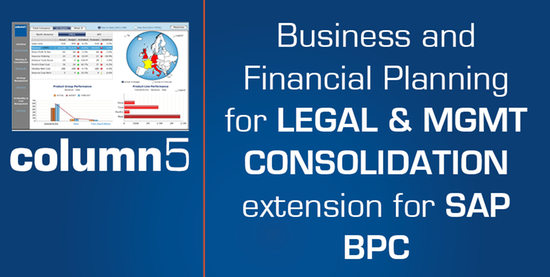 Business/Financial Planning for Legal-SAP BPC by Column5