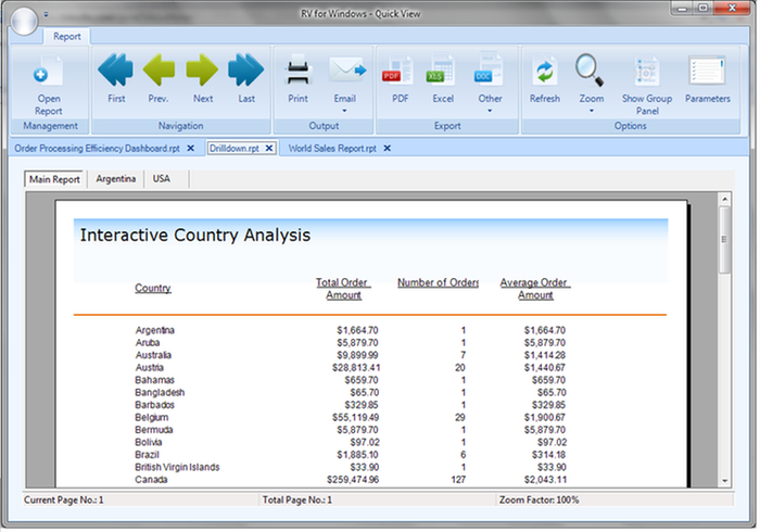 RV for Windows : Windows Based Report Viewer by climate27 | SAP App