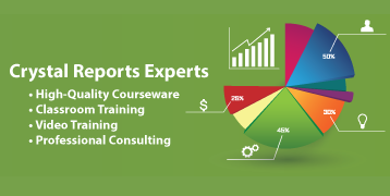 Crystal Reports Training Courseware by Vision Harvest, Inc