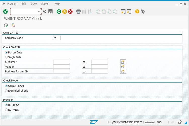 WHINT B2G VAT Check by whitepaper id GmbH   SAP App Center