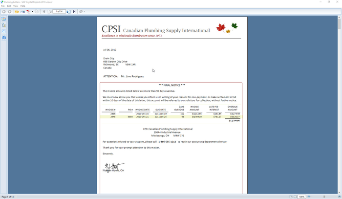 SAP Crystal Reports Viewer 2016 by SAP | SAP App Center