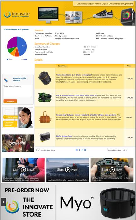 SAP Document Presentment by OpenText by SAP | SAP App Center