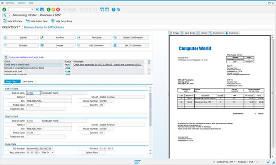 SAP Digital Content Processing by OpenText by SAP | SAP App Center