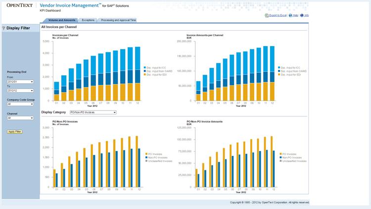 SAP Invoice Management By OpenText By SAP SAP App Center - Vendor invoice management