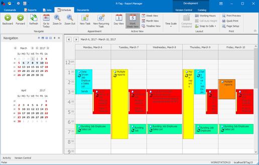 Crystal Scheduler by R-Tag Software LLC | SAP App Center