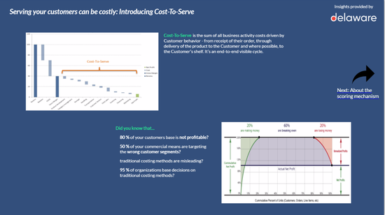 Cost to Serve Quick Scan