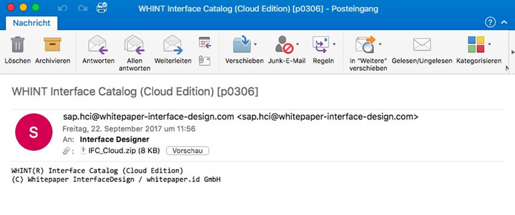 WHINT Interface Catalog (CPI) by whitepaper.id GmbH | SAP App Center