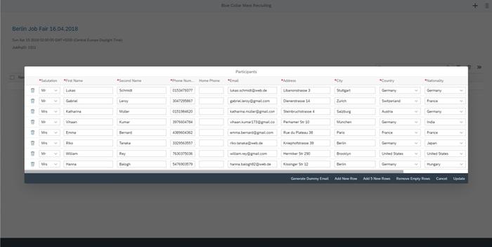 Mass Recruiting Extension by Pentos   SAP App Center