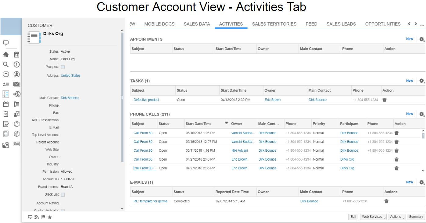 AMC Contact Canvas for SAP Sales Cloud by AMC Technology