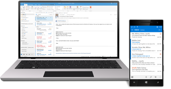 Work smarter, anywhere, with hosted email for business.
