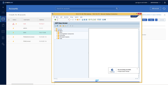 CyberArk Privileged Access Security Solution 10 4 by CyberArk | SAP