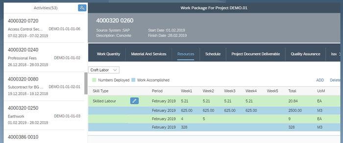 EC&O Project Execution Workbench by LTI | SAP App Center