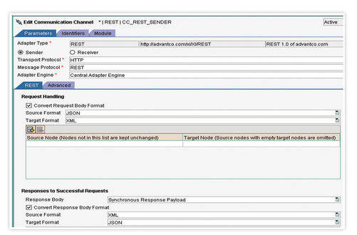 Advantco REST Adapter by Advantco International LLC | SAP App Center