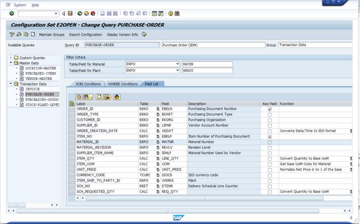 E2open ERP Add-on by E2open | SAP App Center
