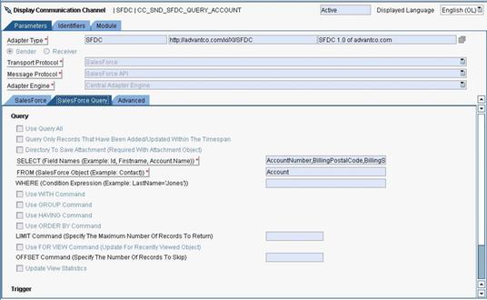 Advantco Salesforce (SFDC) Adapter by Advantco International