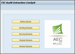 Audit Extraction Cockpit (AEC) by TJC SA | SAP App Center