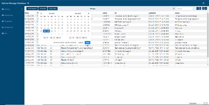 Kalima Admnistration tool