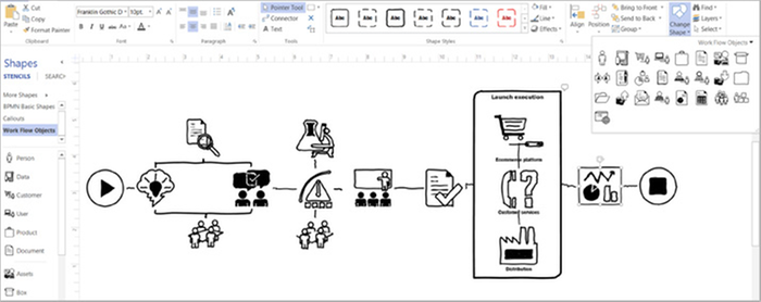 Visio Pro for Office 365 by Microsoft | Dustin Sweden Appmarket