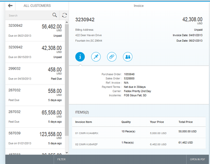 Track Vendor Invoices by Sodales Solutions Inc | SAP App Center