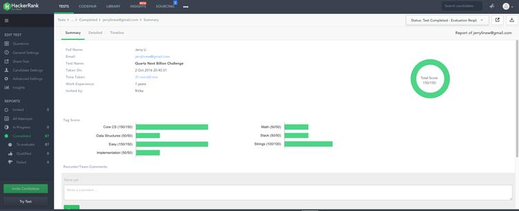 HackerRank Technical Assessment Platform by HackerRank   SAP App Center