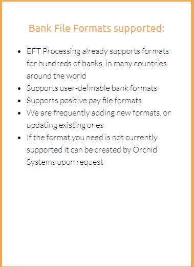 Bank File Formats
