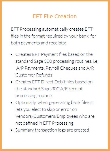 EFT File Creation