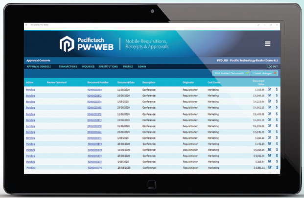 Pacifictech Expense - Automation & Streamlining of Employee Expenses
