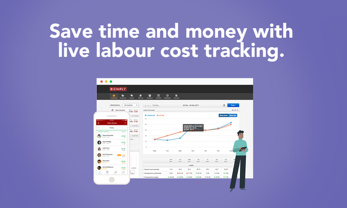 Live Labour Cost Tracking