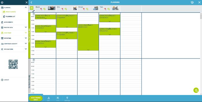 Interactive Planboard