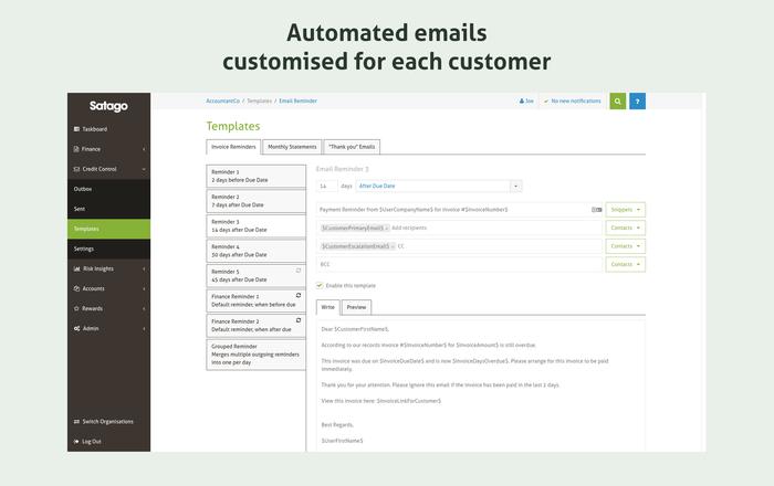 Custom email templates