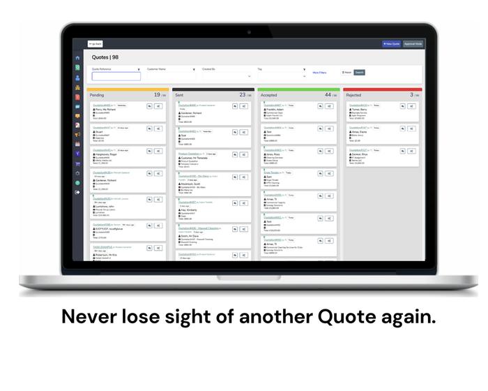 Quote Status Tracking