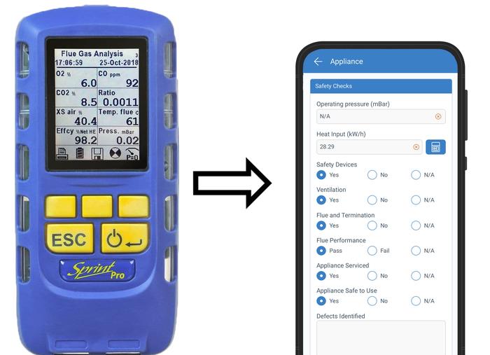 Flue Gas Analyser Integration