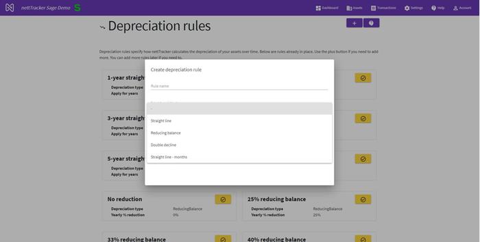 Depreciation Rules