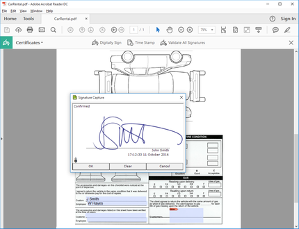 sign pro plug-in for Adobe Acrobat by Wacom Co , Ltd  | Marketplace